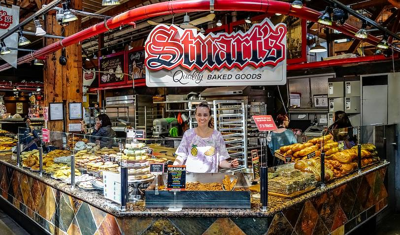 Découverte du marché de Granville Island avec une cheffe cuisinière - Vancouver - Canada