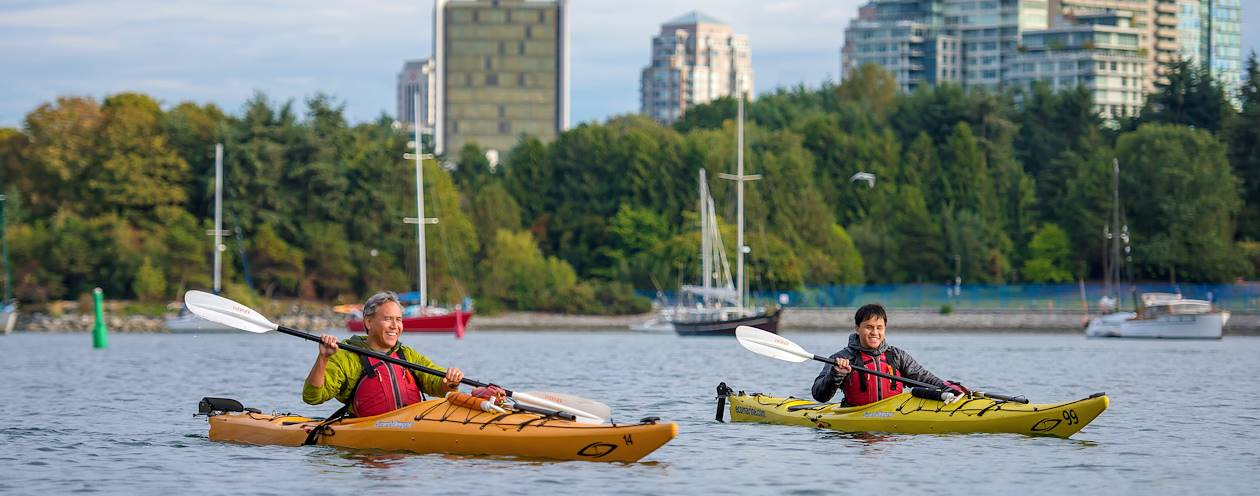 Balade en kayak - Vancouver - Canada