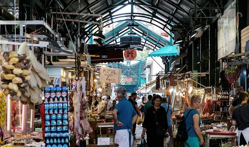 Le marché Modiano-Kapani - Thessalonique - Grèce