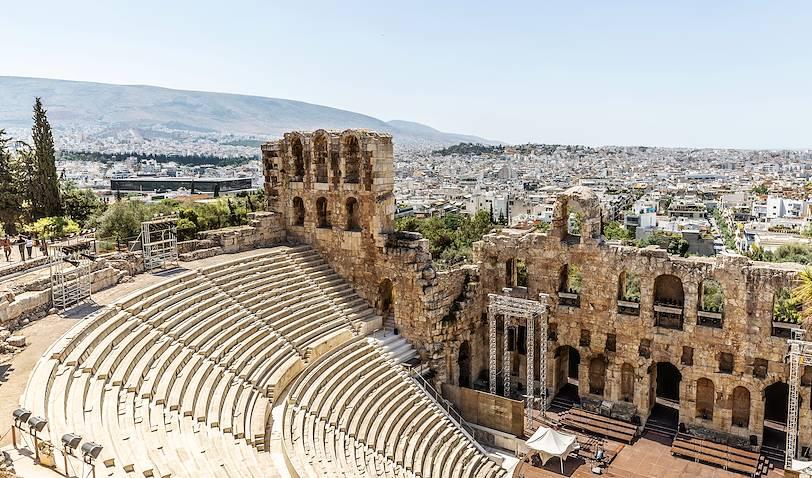 Théâtre antique de l'Acropole d'Athènes - Grèce