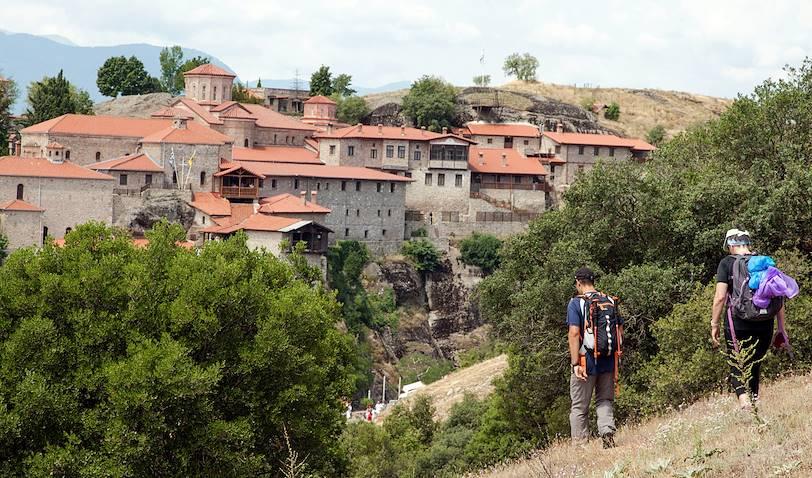Randonnée dans les Météores : monastère de Grand Météore  - Kalambaka - Thessalonique - Grèce