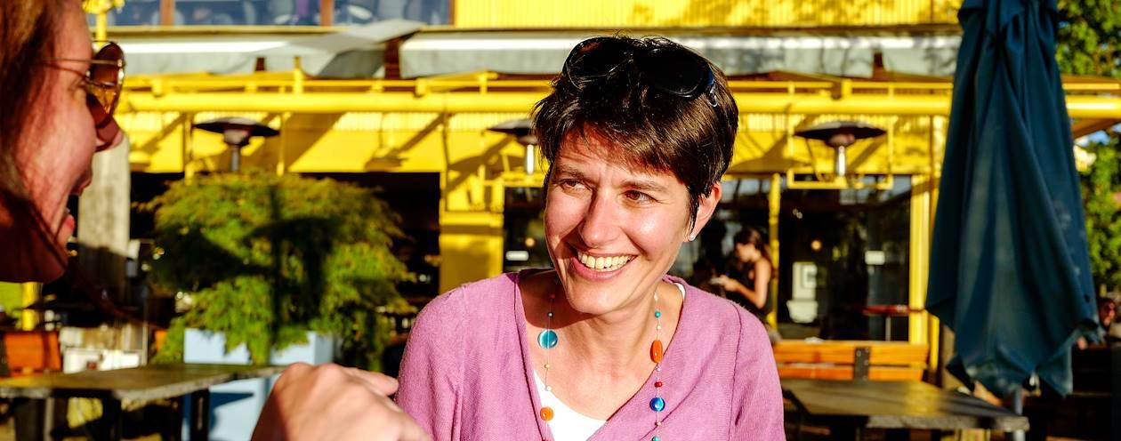 Rencontre avec Alexandra, Welcome Host à Vancouver - Canada