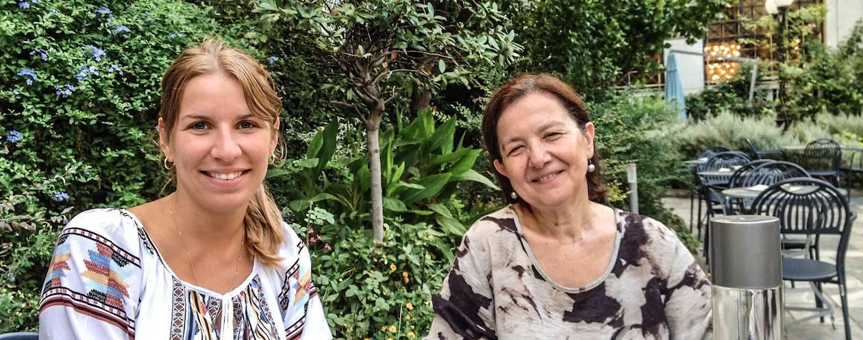 Rencontre avec Marinella, notre Welcome Host à Athènes - Grèce