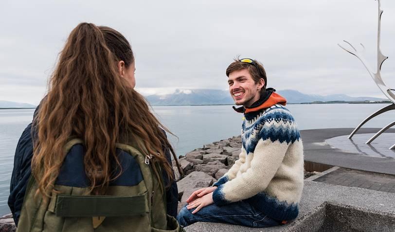 Rencontre avec Michaël, notre Welcome Host à Reykjavik - Reykjavik - Islande
