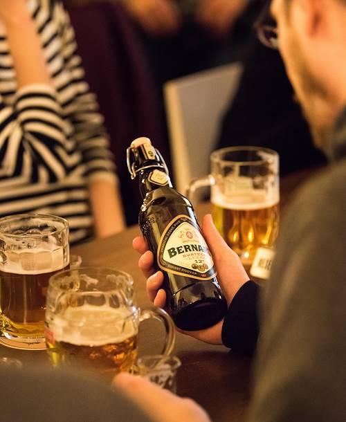 Dégustation des meilleures bières tchèques au U Kunstatu - Prague - République Tchèque