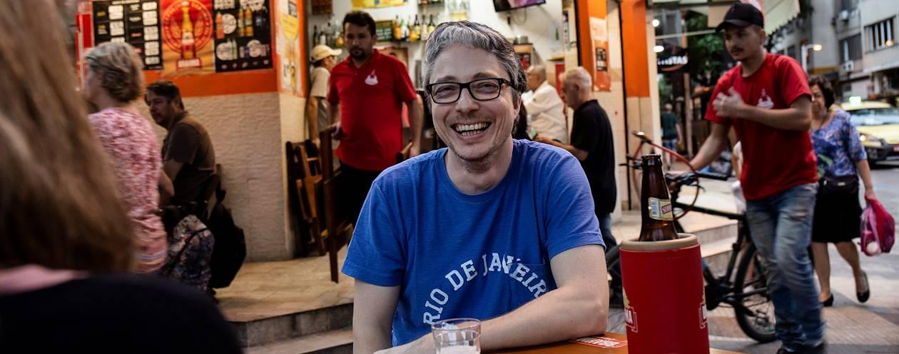 Rencontre avec Olivier, notre Welcome Host à Rio de Janeiro - Brésil