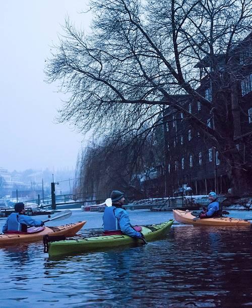 Balade en kayak dans le centre historique - Prague - République Tchèque