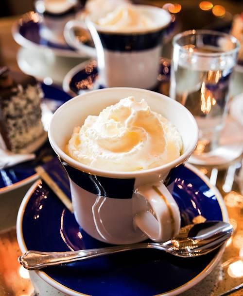 Goûter au café Gestner - Vienne - Autriche