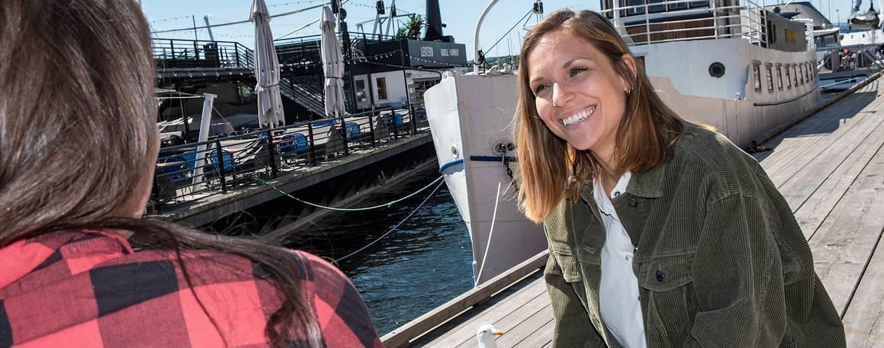 Rencontre avec Mélanie, notre Welcome Host à Oslo - Norvège