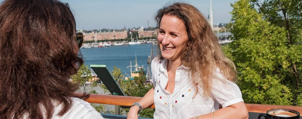 Rencontre avec Estelle, notre Welcome Host à Stockholm - Suède