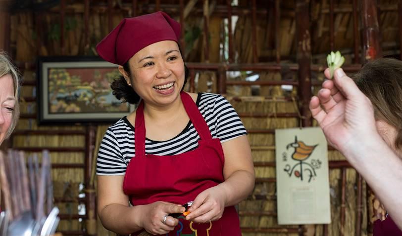 Cours de cuisine vietnamienne chez l'habitant - Hanoï - Vietnam