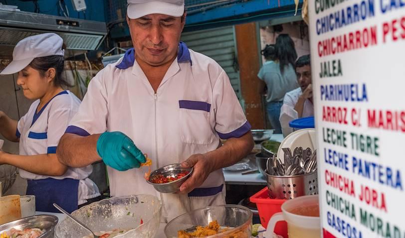 Marché dans le quartier de Magdalena Del Mar - Lima - Pérou
