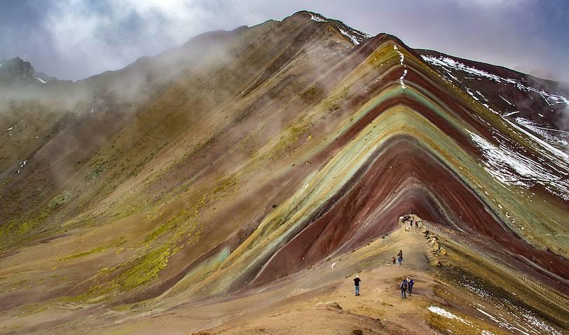 """Vinicunca, la """"montagne aux sept couleurs"""" - Pérou"""