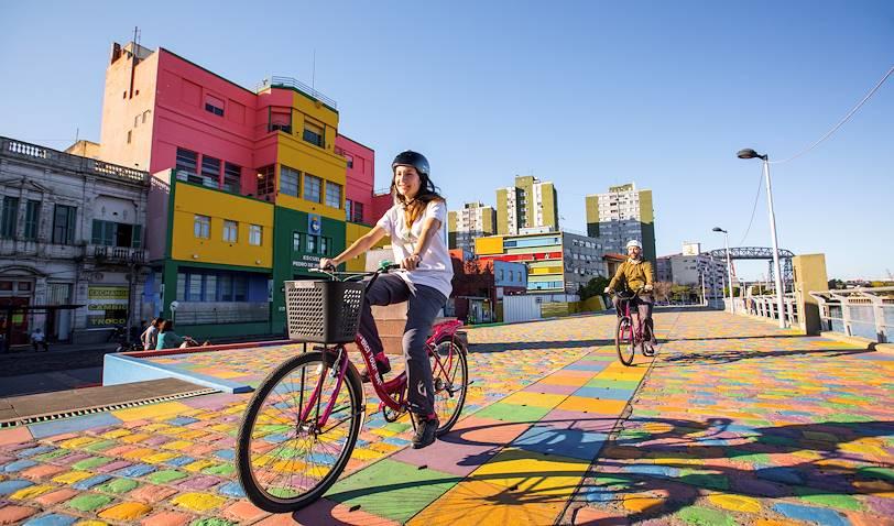 Street art à Buenos Aires, en vélo - Argentine