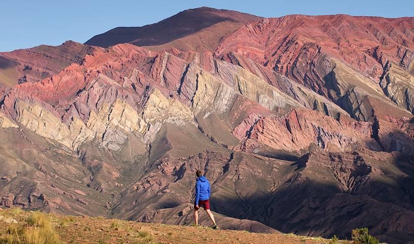 Randonnée dans la Quebrada : les montagnes de Hornocal - Humahuaca - Argentine