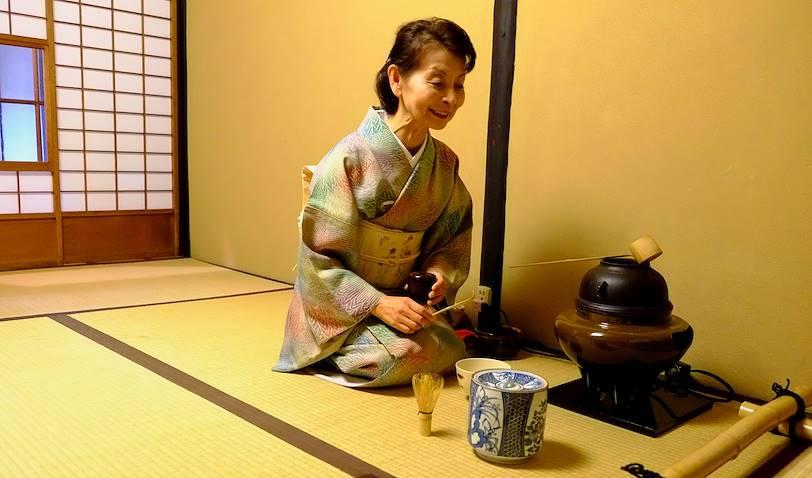 Cérémonie du Thé à Kyoto - Ile de Honshu - Japon