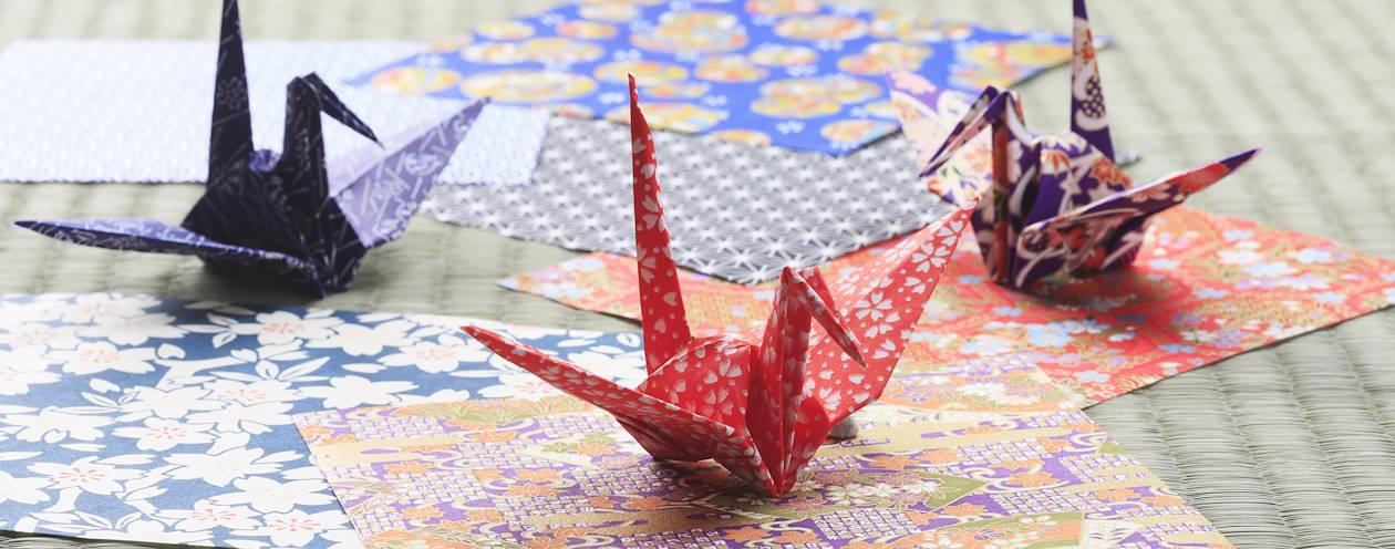 Initiation à l'origami - Japon