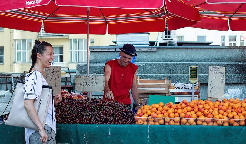 Le marché de Dolac - Zagreb - Croatie