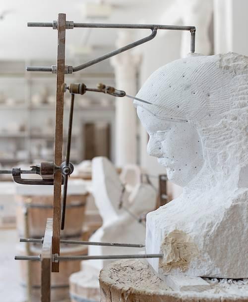 Découverte de l'école de tailleurs de pierre - Brac - Pucisca - Croatie