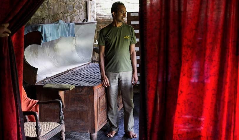 Salle des massages et bains à vapeur - Kandy - Centre - Sri Lanka