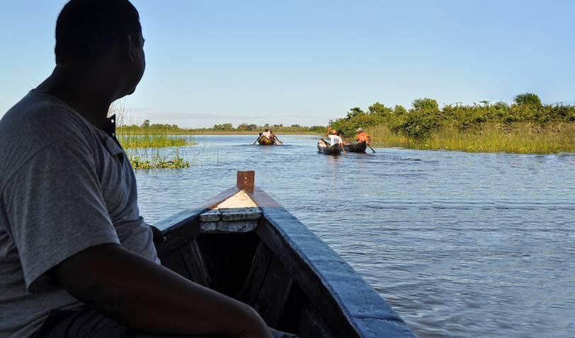 Balade en pirogue sur le Canal des Pangalanes - Madagascar
