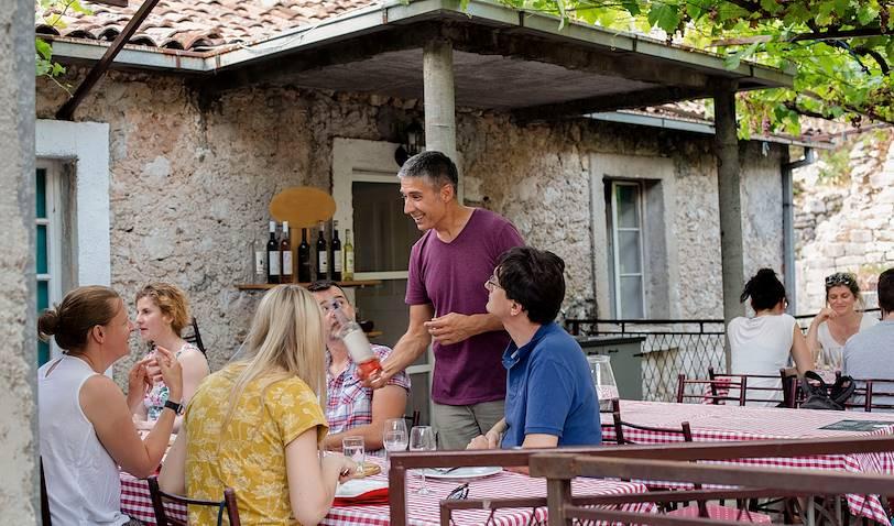 Dégustation de vins chez Misko Lekovic - Seoce - Monténégro