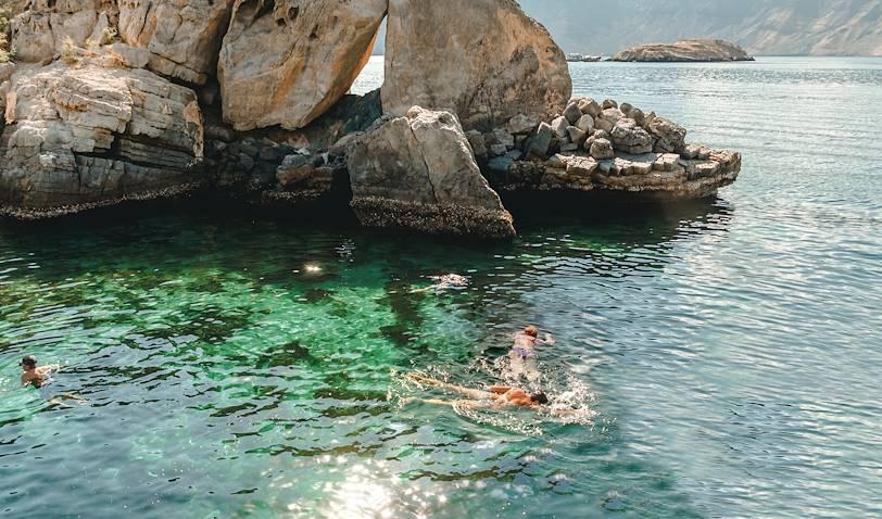 Les îles Daymaniyat, plongée avec masque et tuba - Oman