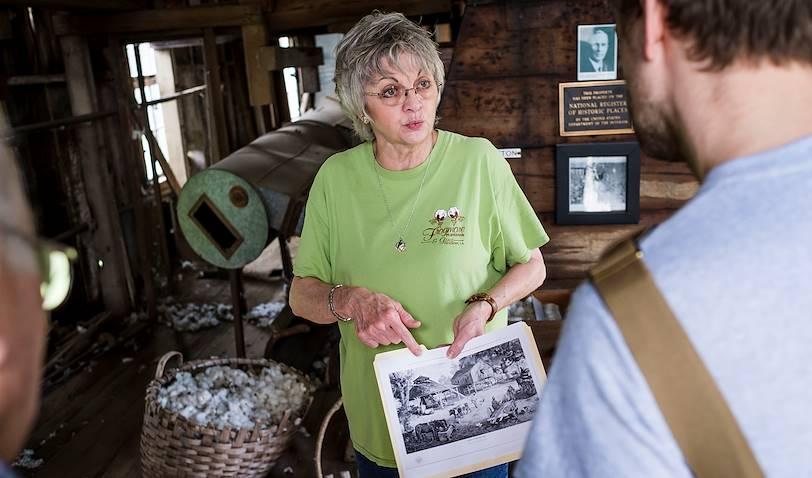 Visite de la plantation Frogmore - Louisiane - Etats Unis