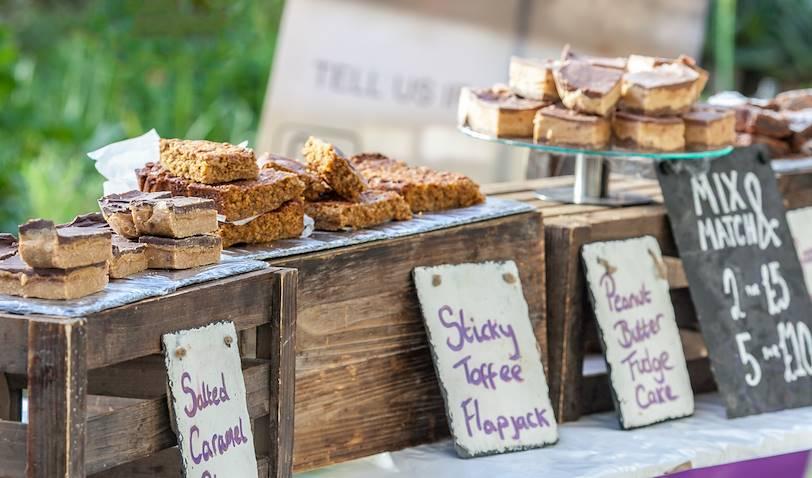 Épicerie de cakes traditionnels - Pays de Galles - Royaume Uni