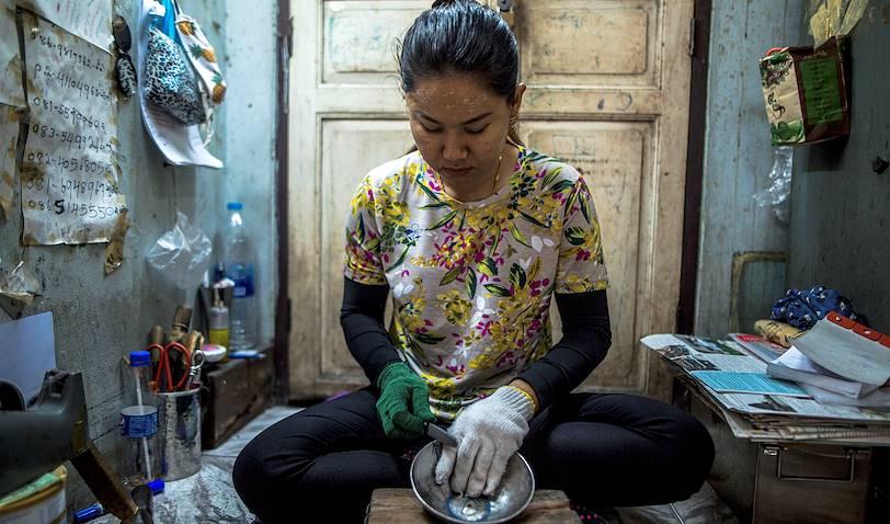 Les forgerons de Baan Bu - Bangkok - Thaïlande