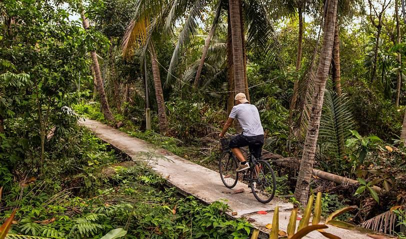La jungle de Bangkok, ou Bang Ka Jao, à vélo - Bangkok - Thaïlande