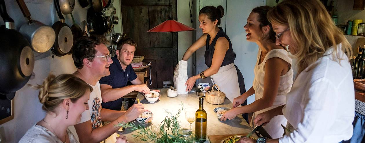 Cours de cuisine chez Momi & Jo - Impruneta - Toscane - Italie