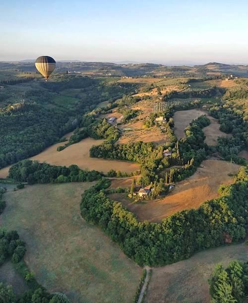 La Toscane en montgolfière - Italie