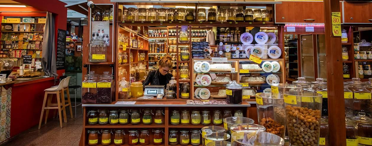 Hala Targowa, le marché couvert de Wroclaw - Pologne