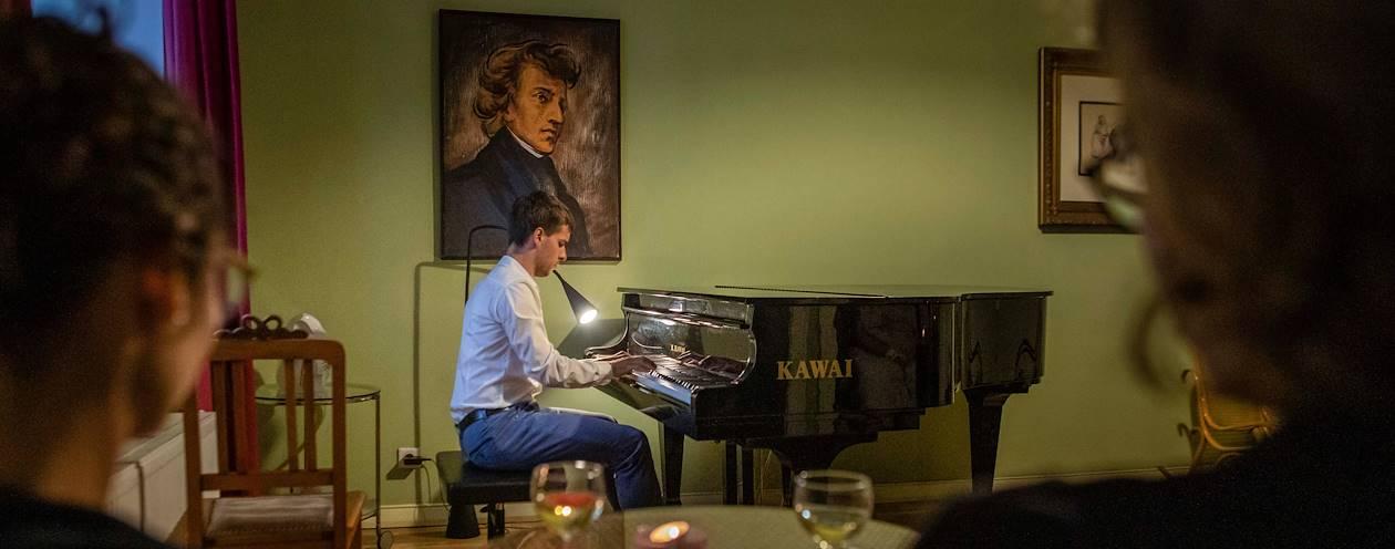 Concert au salon Chopin - Varsovie - Pologne
