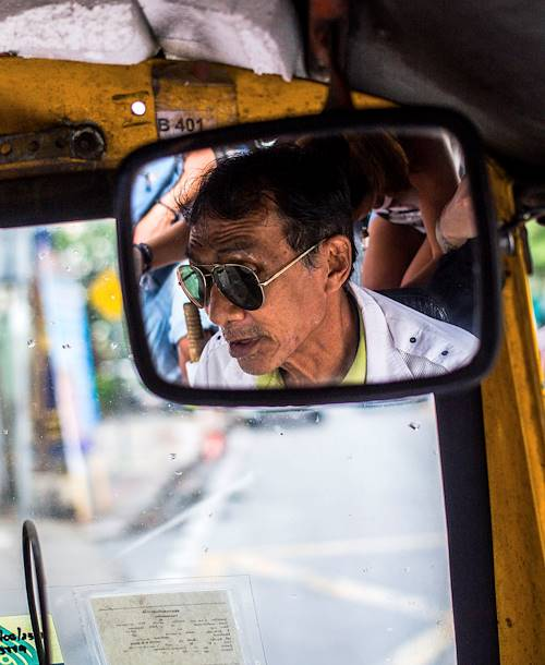 Chauffeur de tuk tuk - Bangkok - Thaïlande