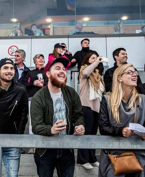 Les courses de lévriers au Greyhound Stadium - Galway - Irlande