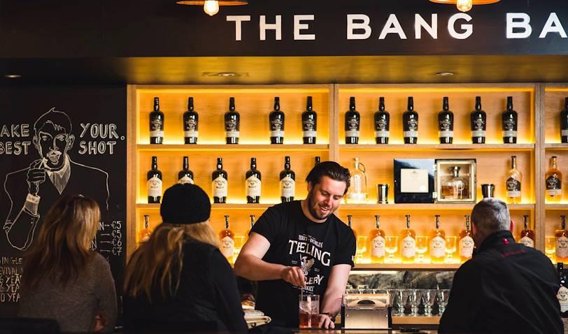 Découverte et dégustation à la distillerie de whiskey Teeling - Dublin - Irlande
