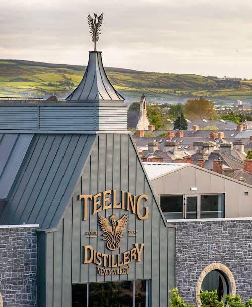 La distillerie de whiskey Teeling - Dublin - Irlande