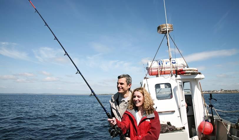 Pêche en mer dans la baie de Dingle - Dingle - Comté de Kerry - Irlande