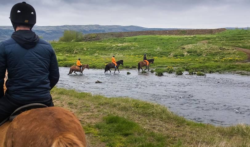 Balade à cheval - Islande