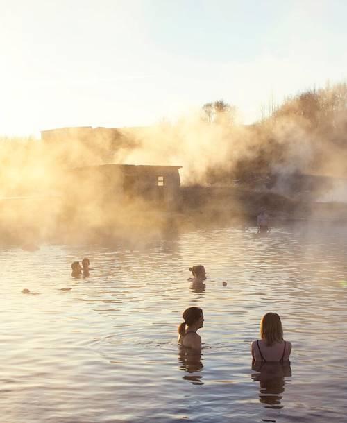 Secret Lagoon - Fludir - Islande