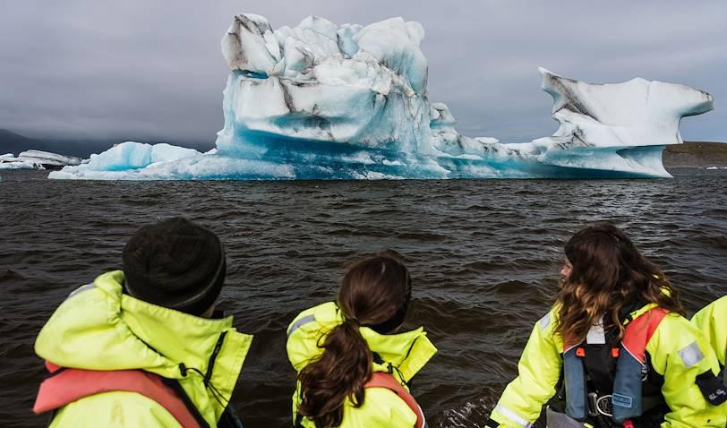 Découverte de la lagune glaciaire de Jökulsarlon - Skaftafell - Islande