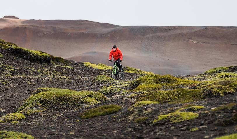 Le lac Myvatn en liberté, en VTT - Myvatn - Islande