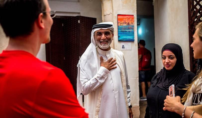 Déjeuner avec un Emirati au Sheikh Mohammed Cultural Center - Dubaï - Emirats Arabes Unis