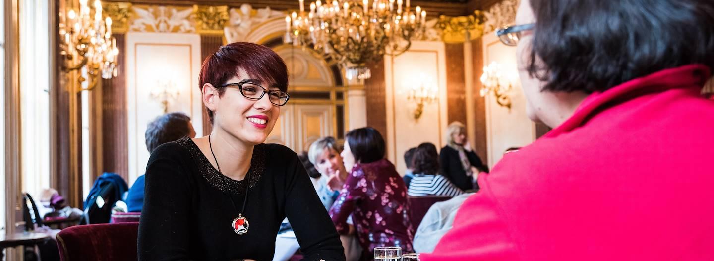 Rencontre avec Marie, notre Welcome Host à Vienne - Vienne - Autriche