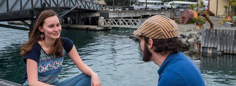Rencontre avec Mylène, notre Welcome Host à Wellington - Île du Nord - Nouvelle Zélande