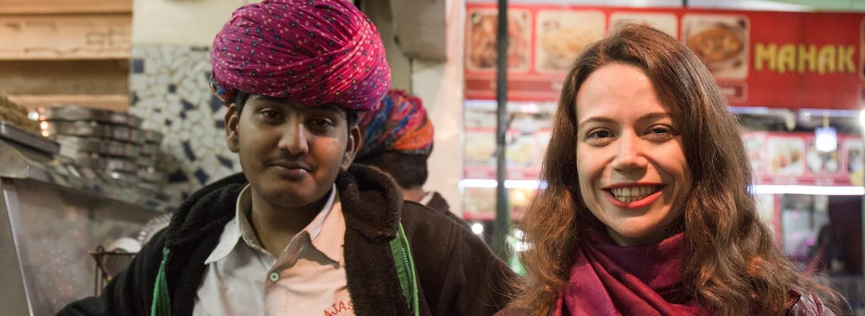 Rencontre avec Clara, notre Welcome Host à New Delhi - Inde
