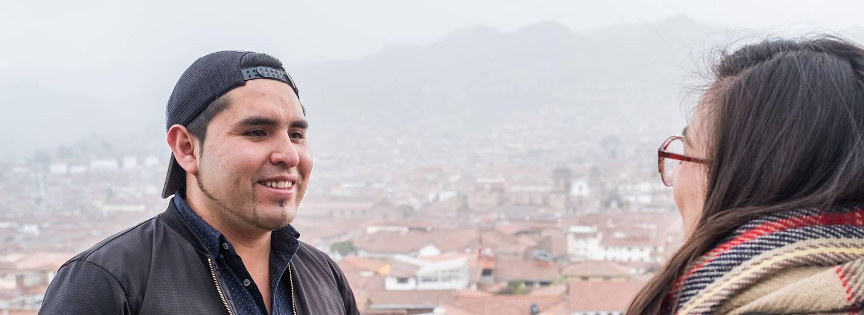 Rencontre avec Gonzalo, notre Welcome Host à Cuzco - Pérou