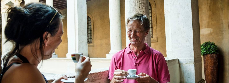 Rencontre avec Yves, notre Welcome Host à Rome - Italie